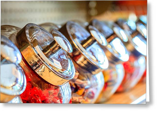 Candy Jar Greeting Cards - Candy jars Greeting Card by Alexey Stiop