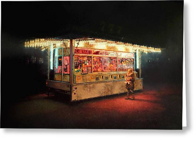Candy Paintings Greeting Cards - Candy Greeting Card by Nicolas Martin