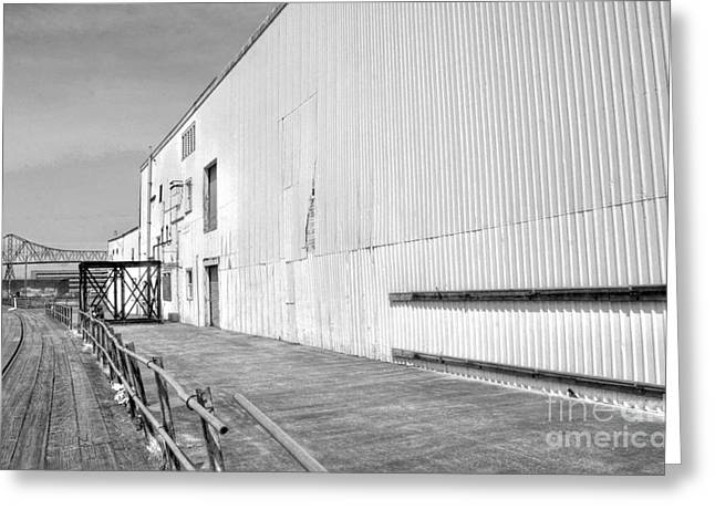 Cannery Row Greeting Cards - Cannery Row Greeting Card by David Bearden