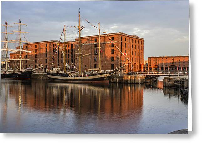Tall Ships Greeting Cards - Canning Dock and Albert Dock Greeting Card by Paul Madden
