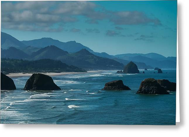 Christopher Fridley Greeting Cards - Cannon Beach Greeting Card by Christopher Fridley