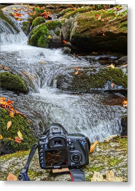 Media Exposure Greeting Cards - Canon 7D Greeting Card by Dan Sproul