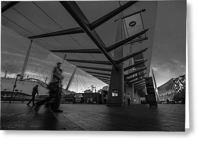 Transport For London Greeting Cards - Canopy Greeting Card by Tedz Duran