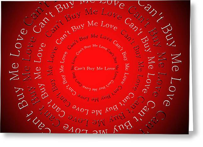 Ringo Starr Greeting Cards - Cant Buy Me Love 1 Greeting Card by Andee Design