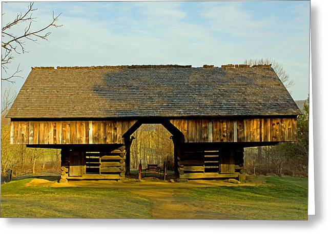 Cantilever Barn Greeting Cards - Cantilever Barn Greeting Card by Wild Expressions Photography
