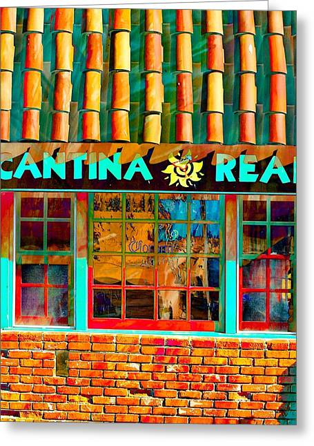 Cantina Greeting Cards - Cantina Real Gone Greeting Card by Michael Hope