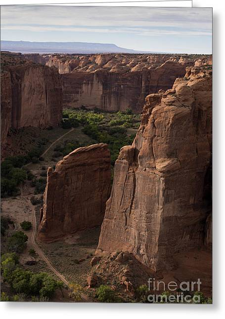 Chromatic Greeting Cards - Canyon de Chelly II color Greeting Card by David Gordon