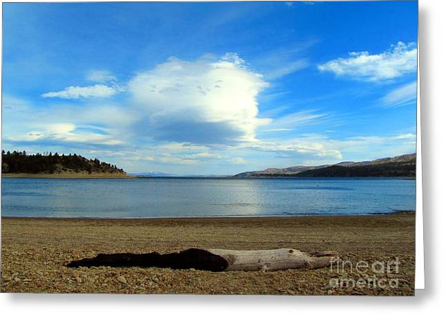 Canyon Ferry Lake Greeting Cards - Canyon Ferry Lake Contrasts Greeting Card by Matthew Peek