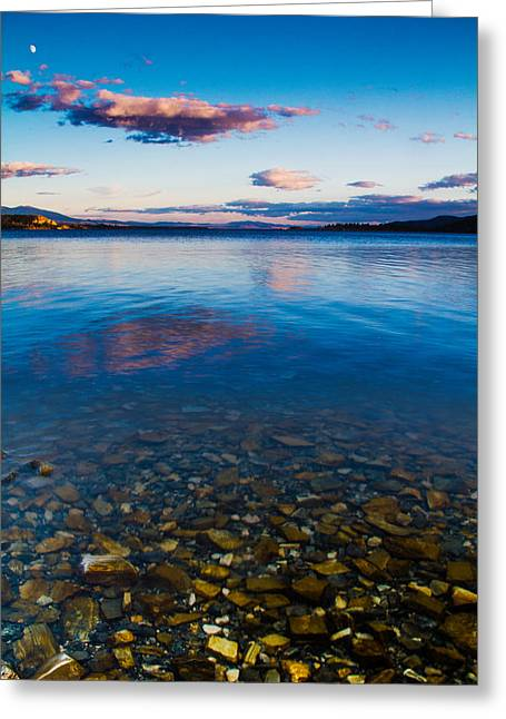 Canyon Ferry Lake Greeting Cards - Canyon Ferry Lake Greeting Card by Daniel Wilde