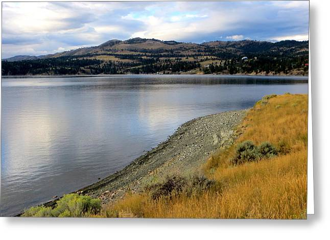 Canyon Ferry Lake Greeting Cards - Canyon Ferry Lake Greeting Card by Jaunine Ammerman
