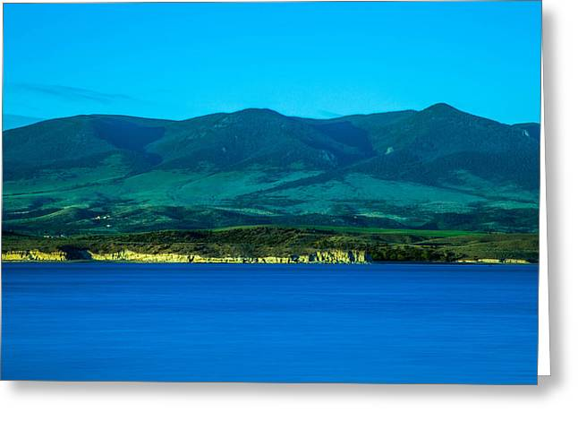 Canyon Ferry Lake Greeting Cards - Canyon Ferry Lake Greeting Card by Scott Mestrezat