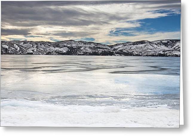 Canyon Ferry Reservoir Greeting Card by Fran Riley