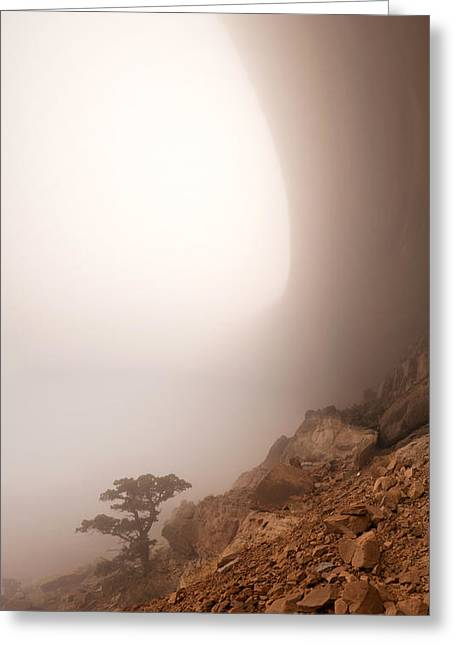 Southern Utah Greeting Cards - Canyon Fog Greeting Card by Dustin  LeFevre