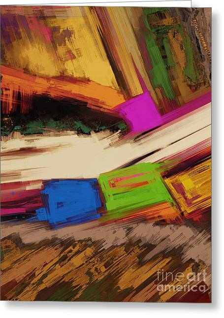 Loose Style Digital Greeting Cards - Canyon Greeting Card by Keith Mills