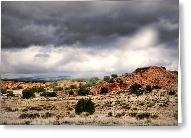 Approaching Storm Greeting Cards - Canyon Moves Greeting Card by Diana Angstadt