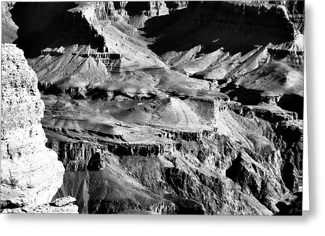 Canyon Mysteries Greeting Card by John Rizzuto