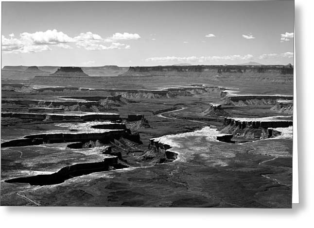 Layers Greeting Cards - Canyonlands National Park #2 Greeting Card by Darin Volpe