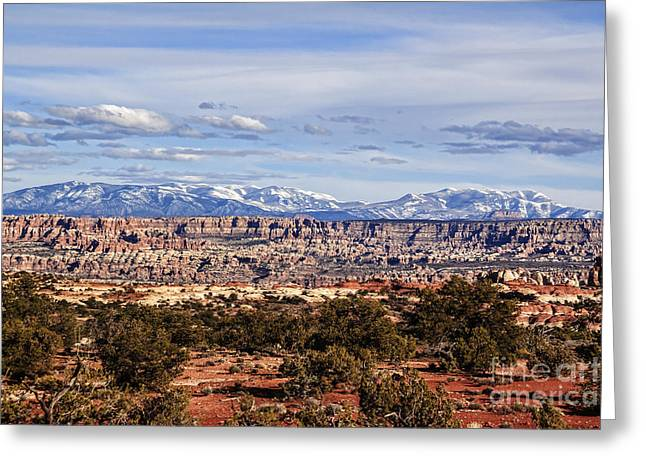 Scotts Scapes Greeting Cards - Canyonlands National Park Spirit Greeting Card by Scotts Scapes