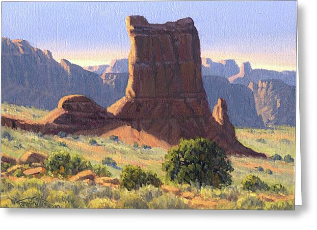 Randy Greeting Cards - Canyonlands Greeting Card by Randy Follis