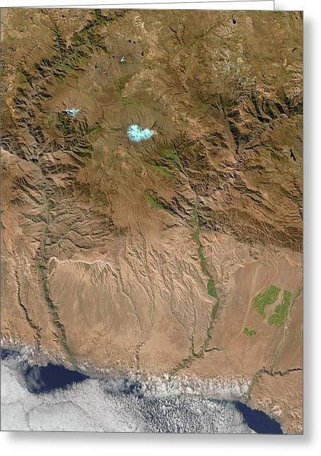 Canyons Greeting Card by Us Geological Survey