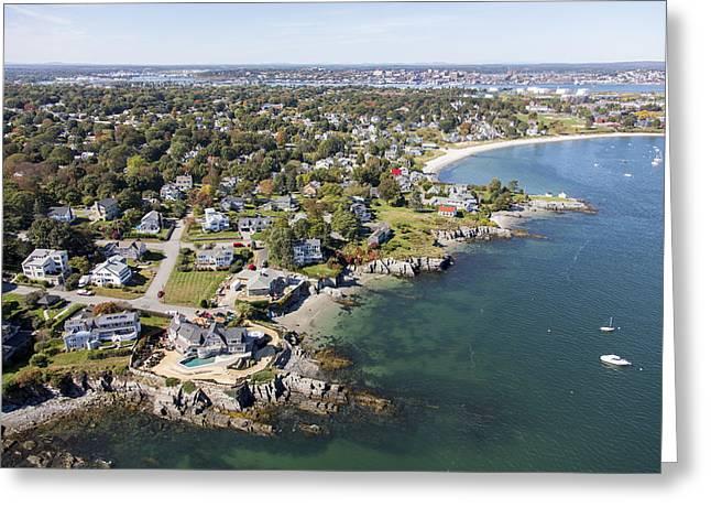 Port Elizabeth Greeting Cards - Caoe Elizabeth, Maine Me Greeting Card by Dave Cleaveland