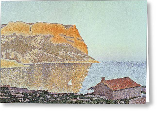 Cap Canaille Greeting Card by Paul Signac