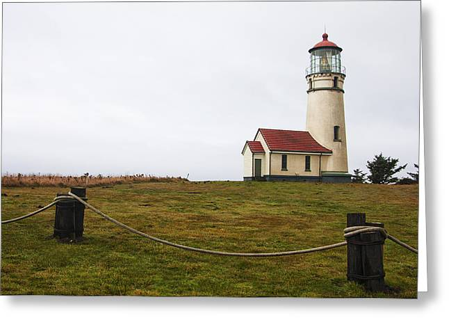Oregon State Parks Greeting Cards - Cape Blanco Lighthouse Greeting Card by Mark Kiver