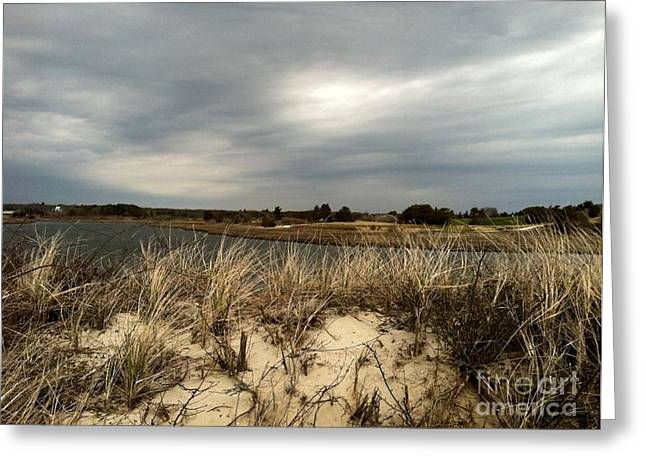 Storm Clouds Cape Cod Greeting Cards - Cape Cod  Greeting Card by Barbara Chase