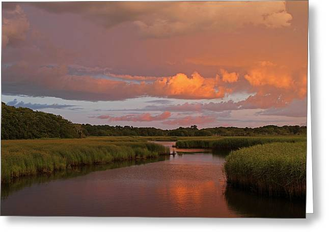 Storm Clouds Cape Cod Greeting Cards - Cape Cod Bells Neck  Greeting Card by Juergen Roth