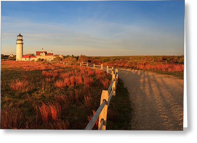 Noaa Greeting Cards - Cape Cod Highland Light Greeting Card by Henk Meijer Photography