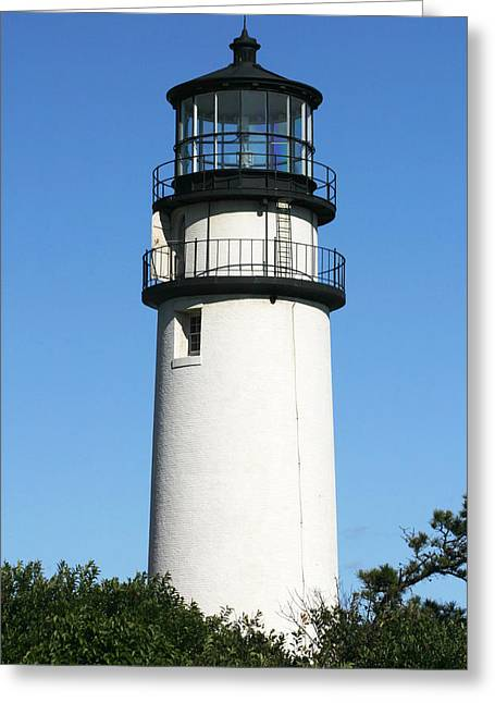 Cape Cod Highland Lighthouse Greeting Card by Michelle Wiarda