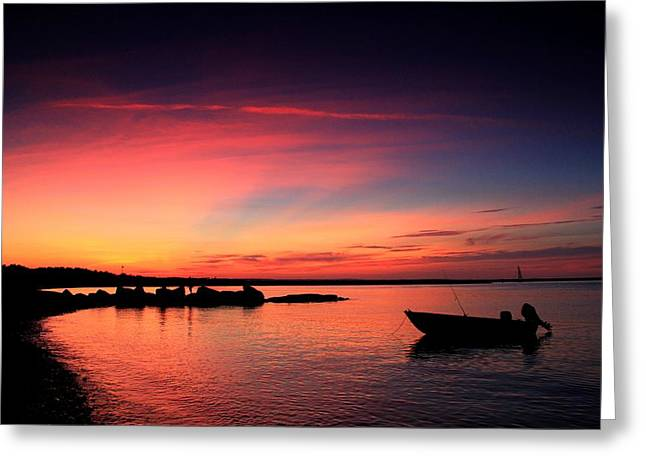 Cape Cod Mass Greeting Cards - Cape Cod Summer Greeting Card by Matthew Grice