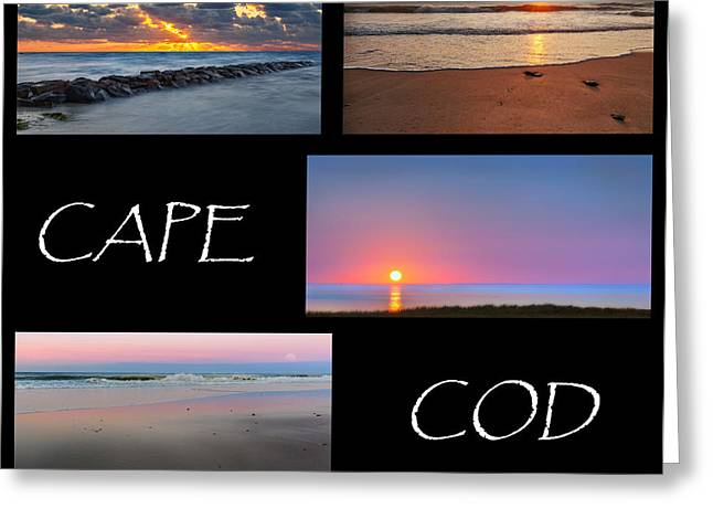 Whale Beach Greeting Cards - Cape Cod Sunsets Greeting Card by Bill  Wakeley