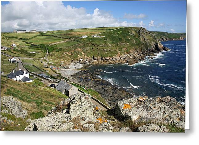 Cape Cornwall Greeting Cards - Cape Cornwall England Greeting Card by John Keates