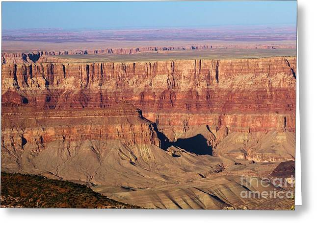 The Grand Canyon Greeting Cards - Cape Final Strata Greeting Card by Adam Jewell