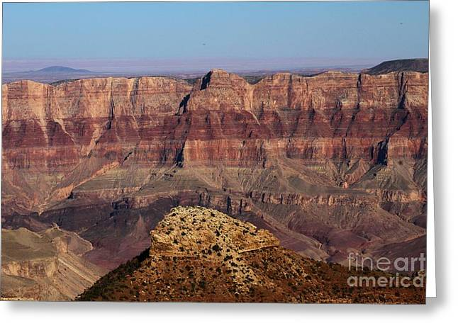The Grand Canyon Greeting Cards - Cape Final Walls Greeting Card by Adam Jewell