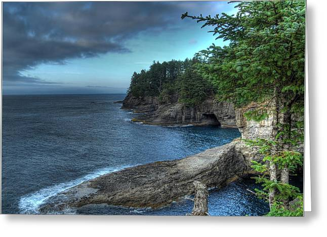 Cape Flattery Greeting Cards - Cape Flattery Greeting Card by Jim Rettker