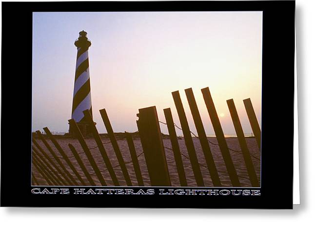 Cape Hatteras Lighthouse Greeting Card by Mike McGlothlen