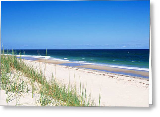 Cape Hatteras Greeting Cards - Cape Hatteras National Park, Outer Greeting Card by Panoramic Images