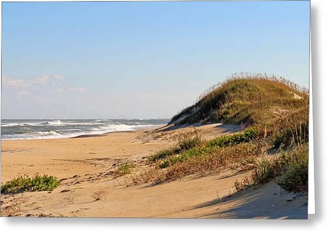Cape Hatteras National Seashore Greeting Cards - Cape Hatteras National Seashore  4019 Greeting Card by Jack Schultz