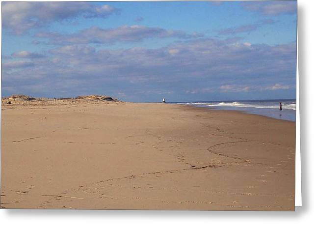 Person Greeting Cards - Cape Henlopen 8 Greeting Card by Cynthia Harvey