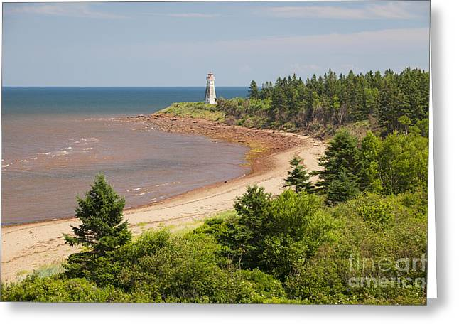 Northumberland Greeting Cards - Cape Jourimain lighthouse in New Brunswick Greeting Card by Elena Elisseeva