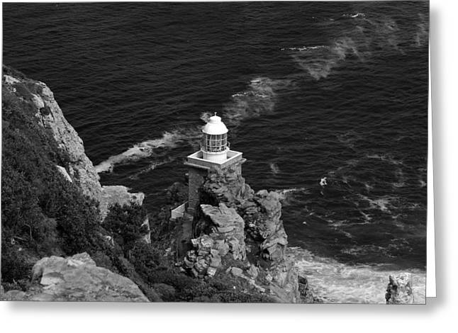 Cape Lighthouse Greeting Card by Aidan Moran