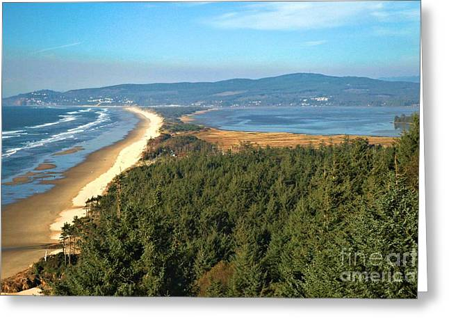 Cape Lookout Greeting Cards - Cape Lookout Coastal View Greeting Card by Adam Jewell