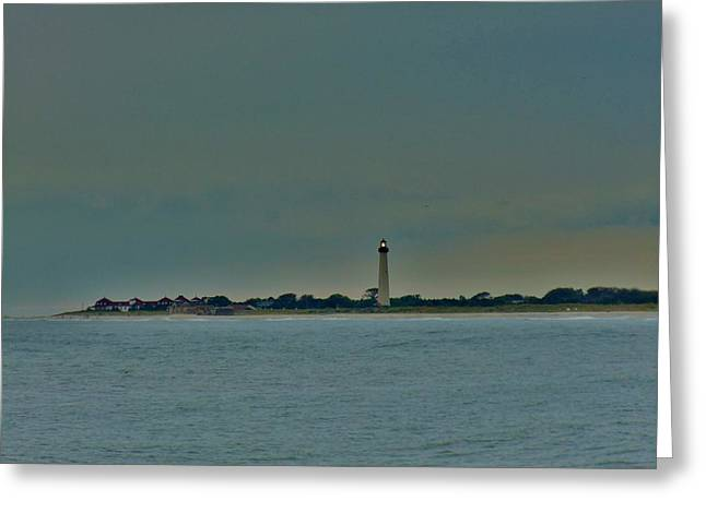 Seacape Greeting Cards - Cape May Point Greeting Card by Ed Sweeney