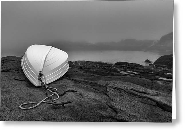 Maine Coast Greeting Cards - Cape Neddick Greeting Card by Joseph Smith