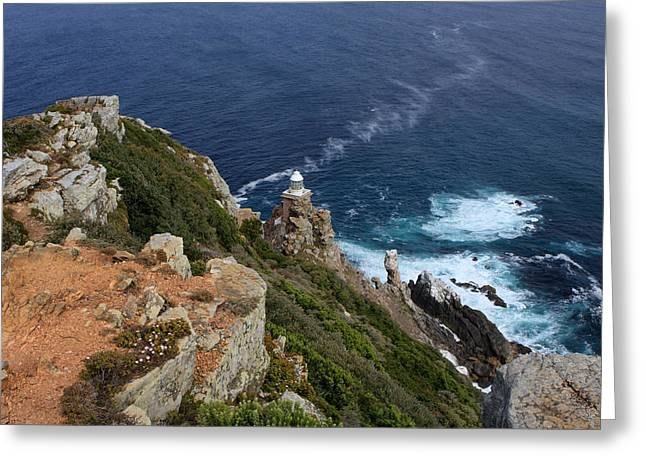 Cape Of Good Hope  Greeting Card by Aidan Moran
