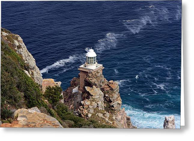 Cape Of Good Hope Lighthouse Greeting Card by Aidan Moran