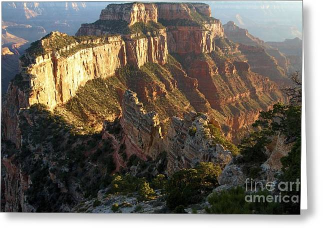 The Grand Canyon Greeting Cards - Cape Royal Glow Greeting Card by Adam Jewell