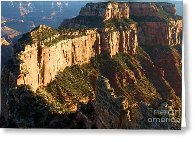 The Grand Canyon Greeting Cards - Cape Royal Sunset Greeting Card by Adam Jewell